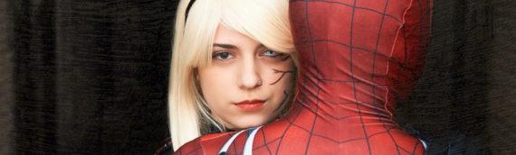 Gwenom + Spiderman Cosplay
