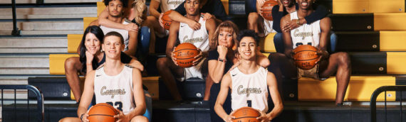 The Colony High School Basketball Group