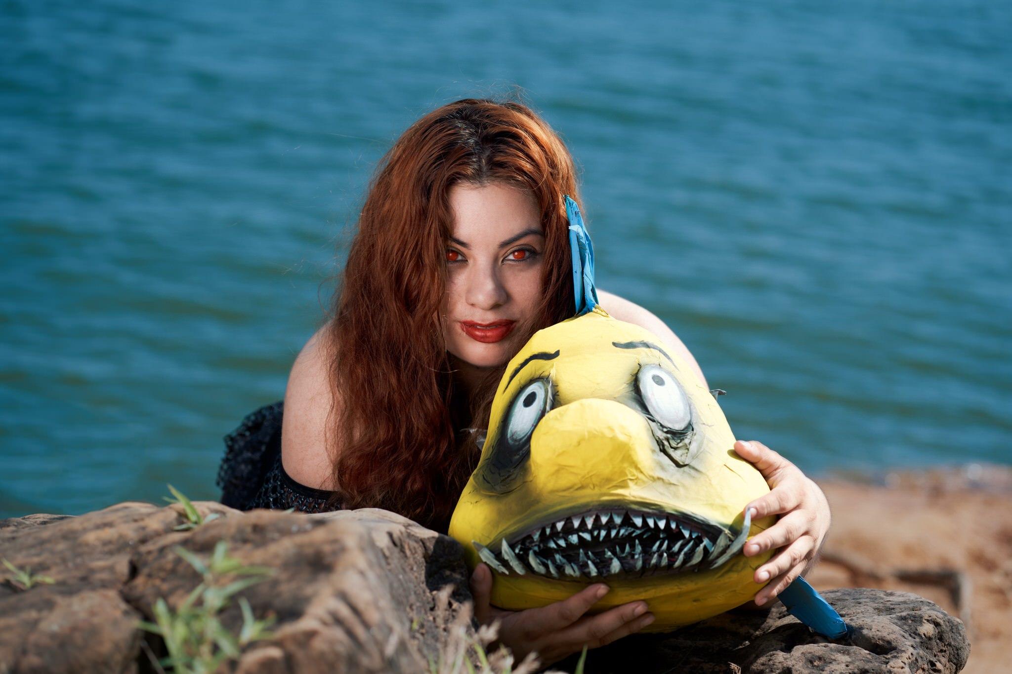 Brenda as Gothic Ariel #5