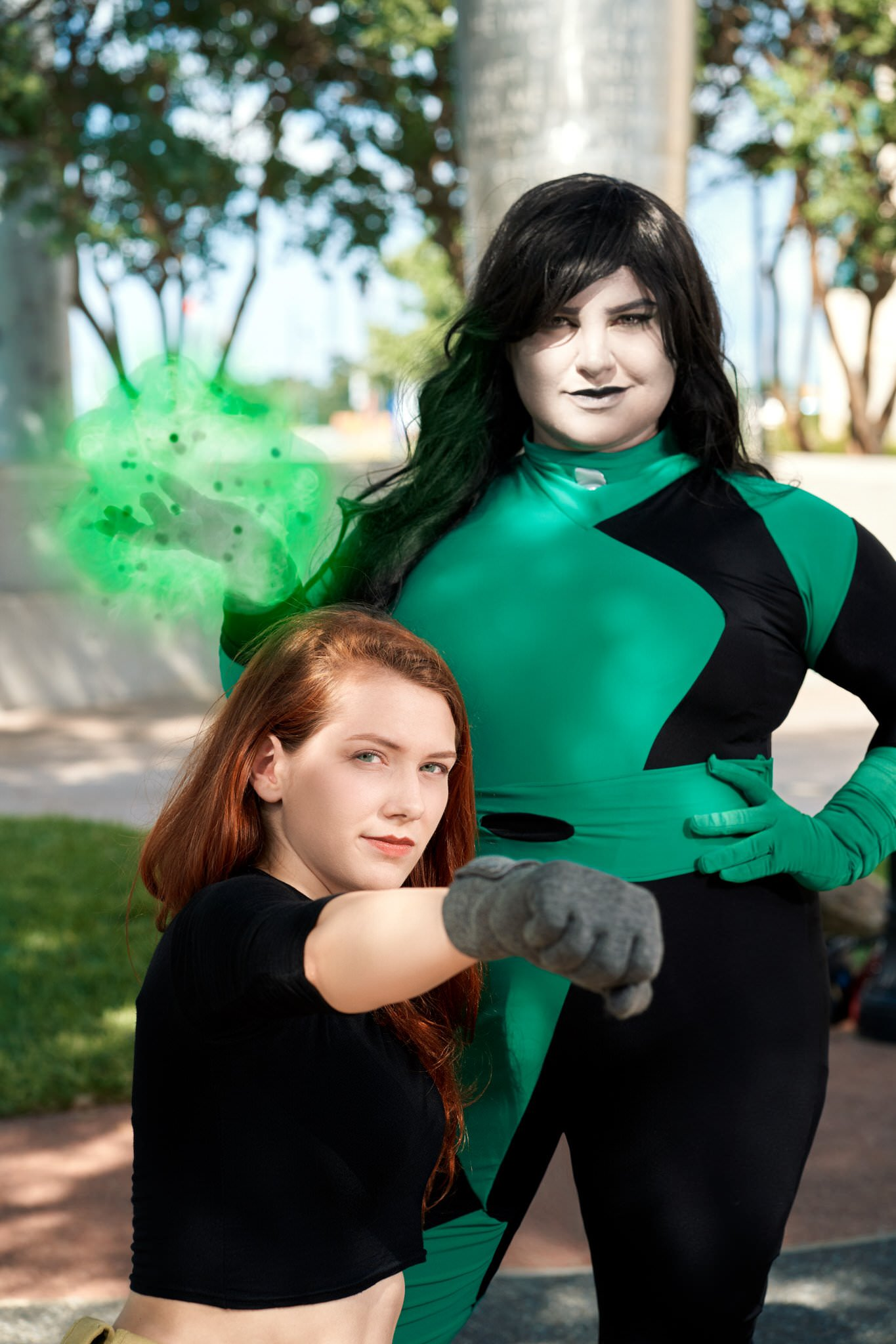 Kim Possible and Shego Cosplay #3